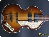 Hfner Hofner 5001 Caver Beatles Bass 1961 Sunburst
