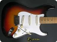 Fender Stratocaster 1958 3 tone Sunburst