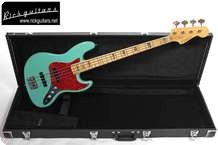 Edwards Jazz Bass 0000 Seafoam Green