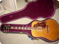 Gibson HUMMINGBIRD 1968 NATURAL CHERRY SIDES BACK