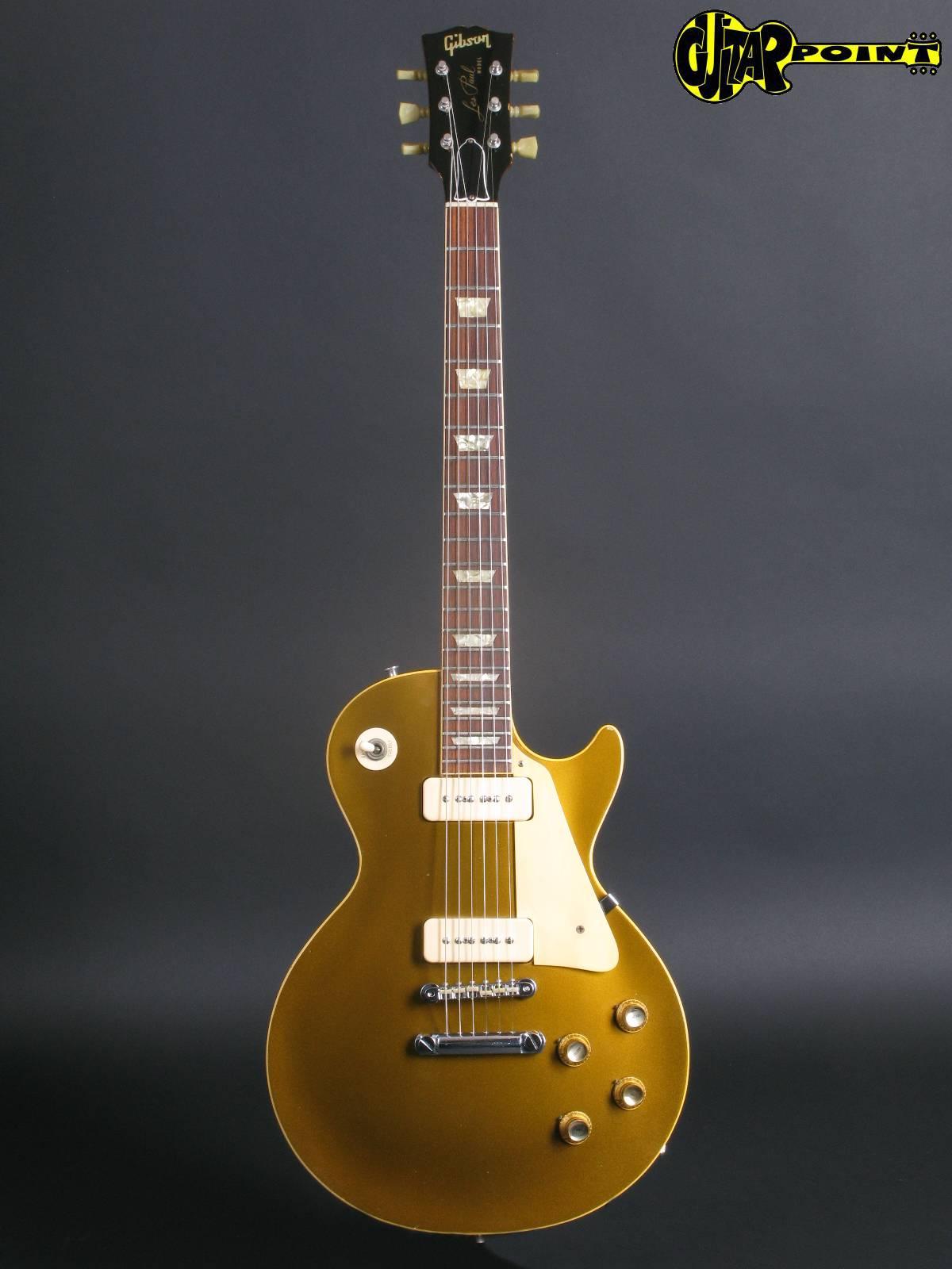 gibson les paul standard gold top 1968 gold top guitar for sale guitarpoint. Black Bedroom Furniture Sets. Home Design Ideas