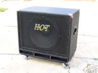 Hot Amps BB115 Bass Cabinet Black
