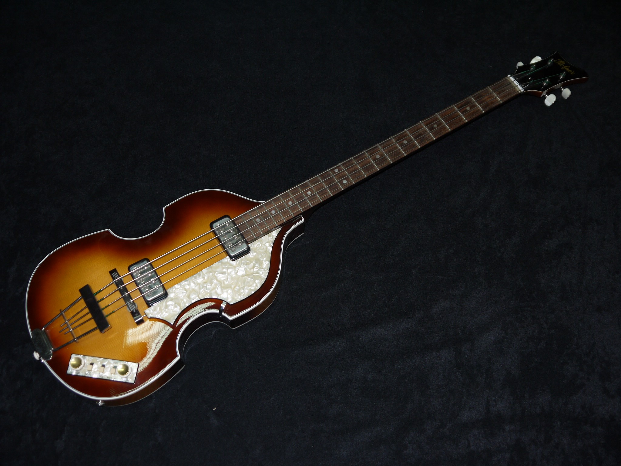 Hofner Violin Bass 1963 Reissue Antique Brown Sunbrust 30943