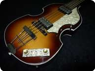 Hofner Violin Bass 1963 Reissue Antique Brown Sunbrust