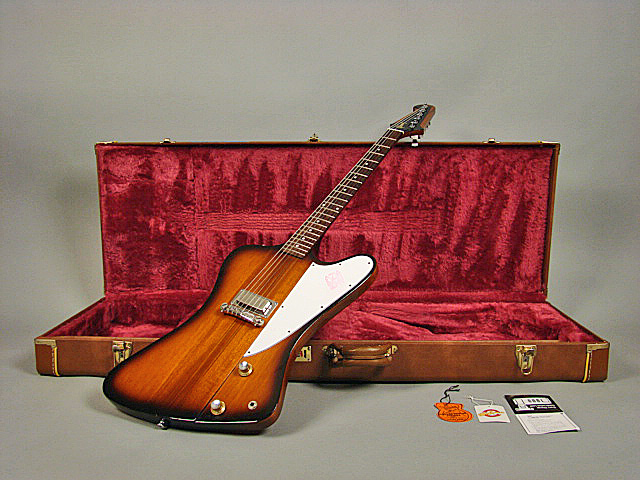 gibson firebird i 1963 reissue on hold 1999 tobacco. Black Bedroom Furniture Sets. Home Design Ideas