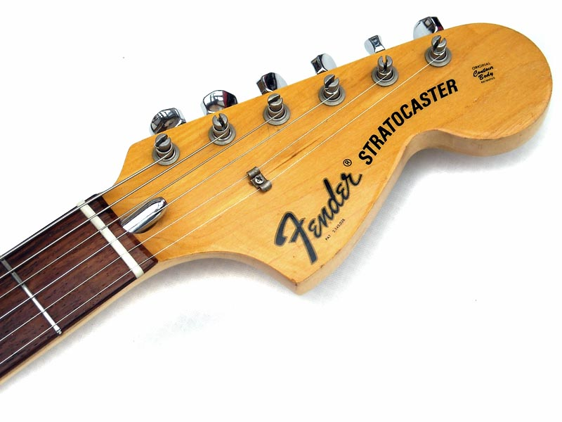 fender stratocaster 1972 sunburst guitar for sale wutzdog guitars. Black Bedroom Furniture Sets. Home Design Ideas