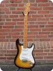 Fender Stratocaster Custom Shop 57 Re issue 2002 2 tone Sunburst