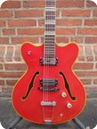 Hofner Verythin 1964 Refinished Red