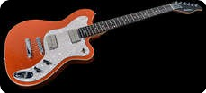 Katar Kustom Kuitars Popmaster Standard Tangerine Flake