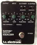 Tc Electronic Parametric EQ Sustain 1980