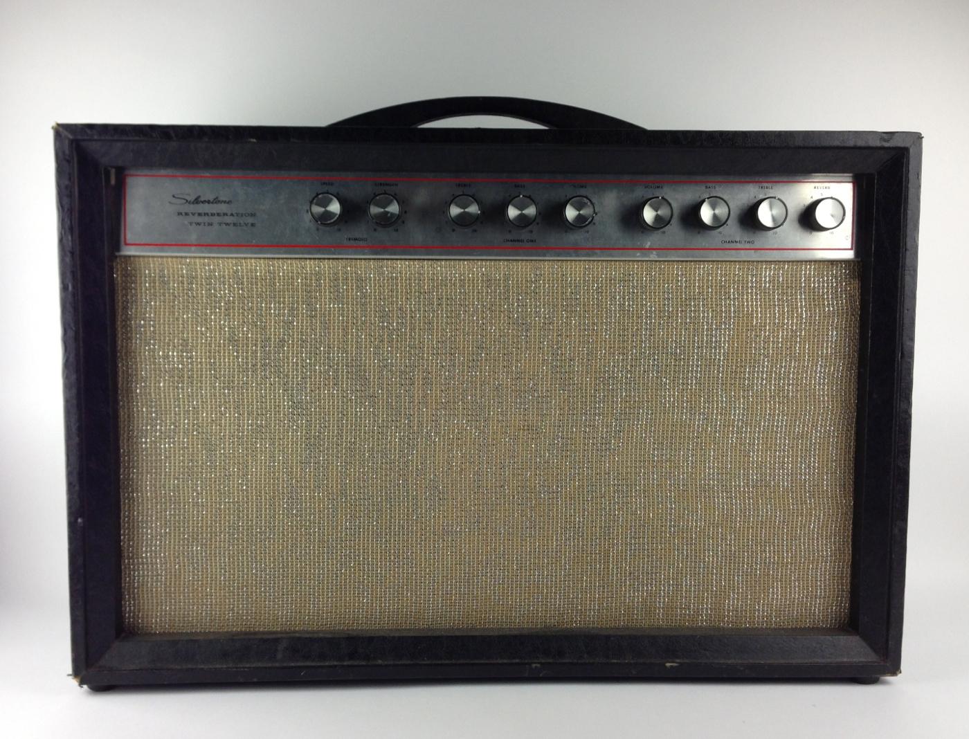 Vintage Silvertone Amps - Beautiful Latin Ass