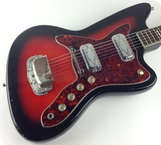 Silvertone 1478 Silhouette 1962 Red Burst