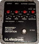 Tc Electronic Booster Line Driver Distortion 1980