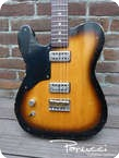 Panucci Custom Guitars Tribute T 2013 Tobacco Burst