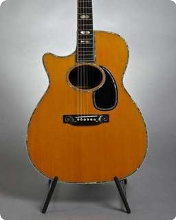 Martin Om 45 Custom   Lefthand 1988 Natural
