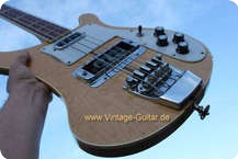 Rickenbacker 4001 Stereo Bass 1974 Mapleglo