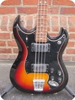 Hagstrom H II N B 1971 Sunburst