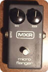 Mxr Micro Flanger 1981