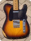 Fender Nocaster 51 Heavy Relic Custom Shop 2001 2 Tone Sunburst