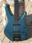 Status 4000 Fretless Bass 2005 Turquoise Metalic