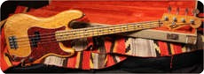 Fender P Bass 1974 Natural