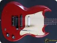 Gibson SG Melody Maker 1966 Fire Engine Red