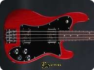 Fender Custom Shop Telecaster Bass Masterbuilt 2013 Trans Red