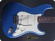 Fender Custom Shop Stratocaster 20th Anni Masterbuilt 2013 Lake Placid Blue