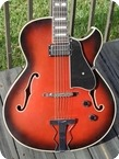 Sschulte ES 175 Florintine Cutaway 1980 Dark Red With Black Sunburst