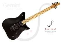 Soultool Customized Guitars Gemini Made To Order Pearl Black