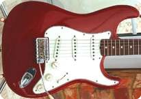 Fender Stratocaster Custom Shop Relic 60 Dakota Red