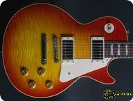 Gibson Les Paul 1959 Reissue Custom Shop 2013 Cherry Sunburst