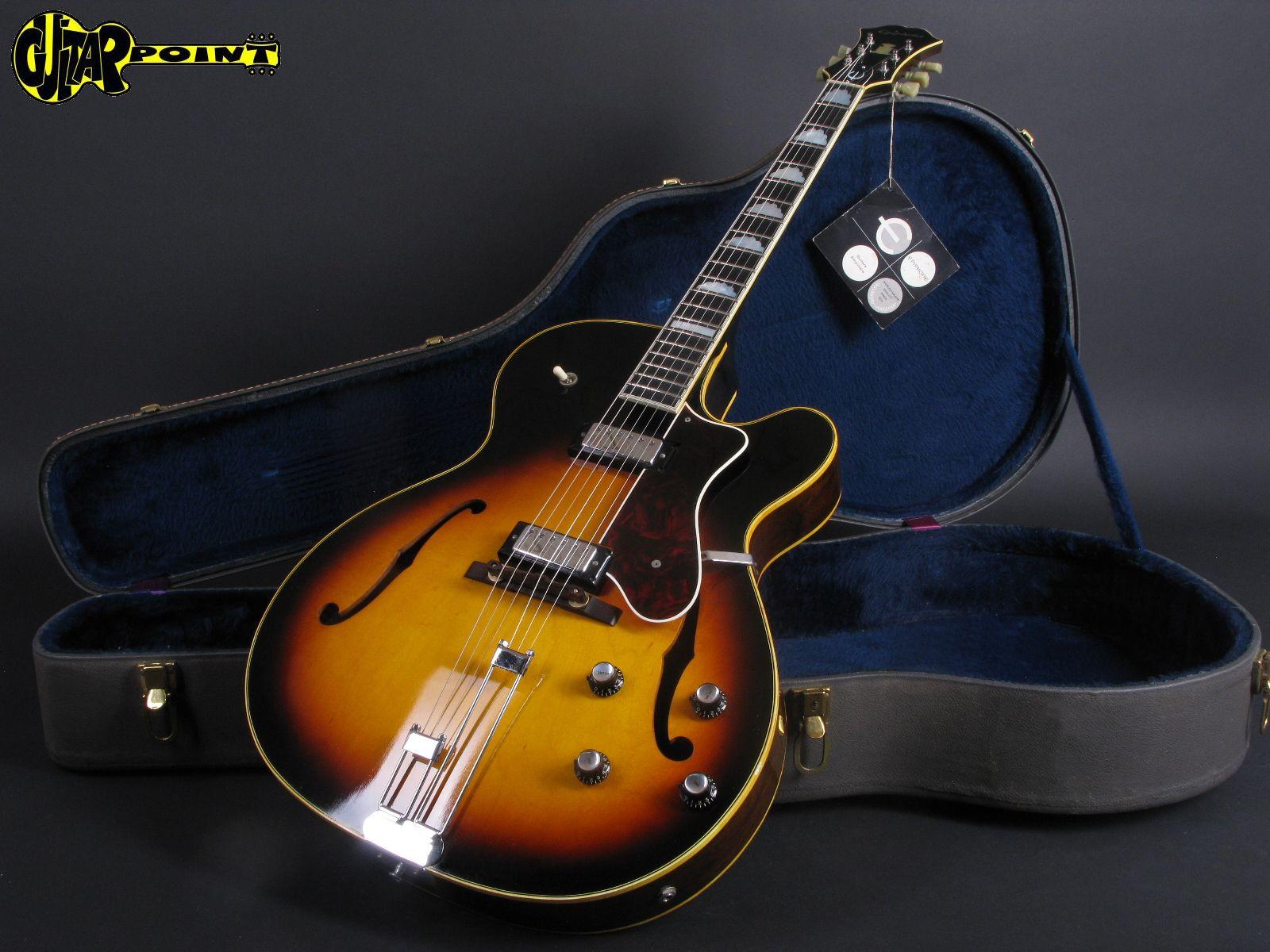 epiphone broadway 1966 sunburst guitar for sale guitarpoint. Black Bedroom Furniture Sets. Home Design Ideas
