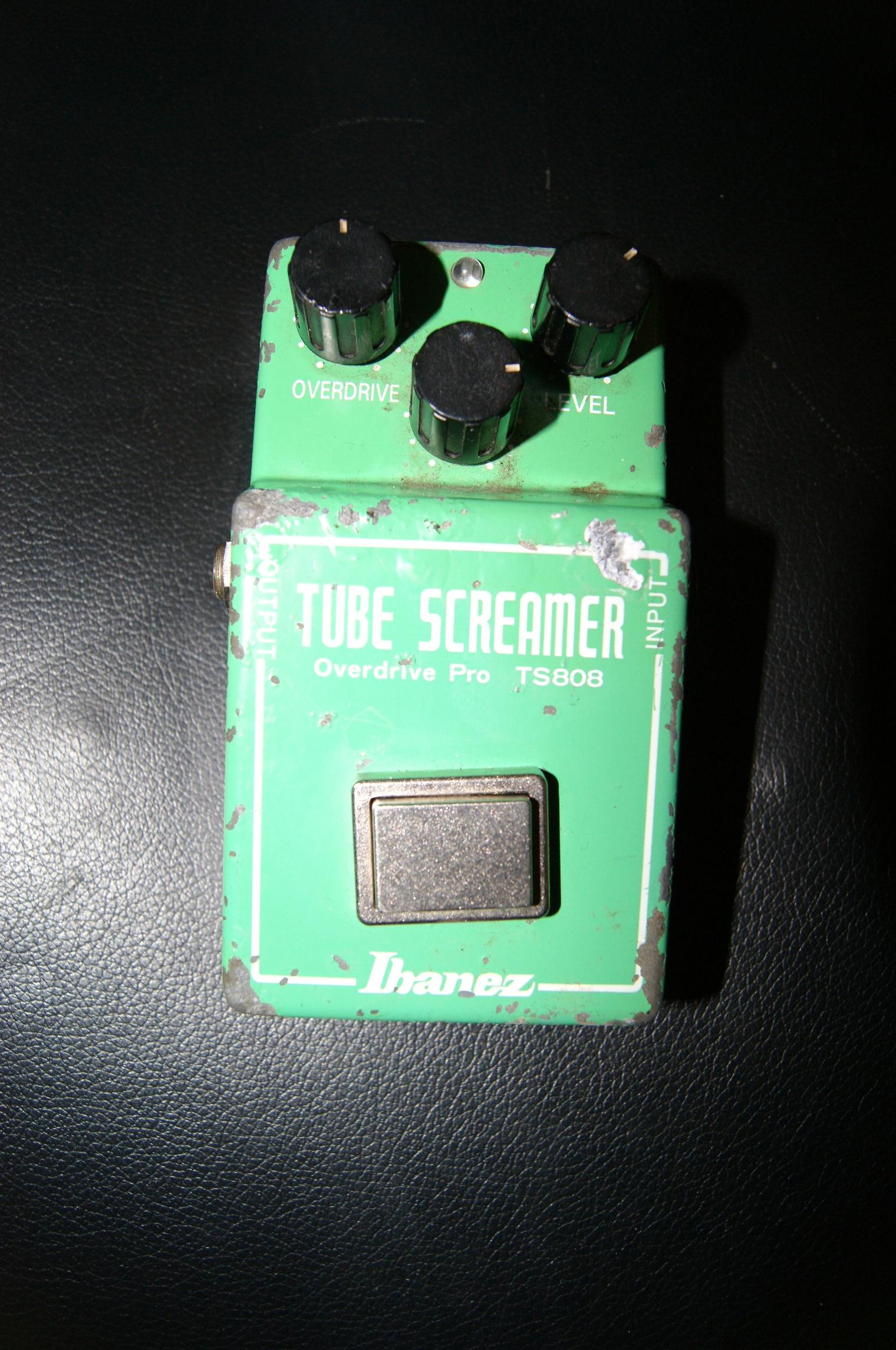 ibanez ts808 1981 green effect pedal for sale instrumentshoppen. Black Bedroom Furniture Sets. Home Design Ideas