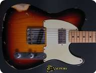 Fender Custom Shop Telecaster 2013 3 tone Sunburst
