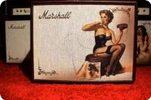 Marshall Custom Shop Pinup Betty Half Stack Cabinet