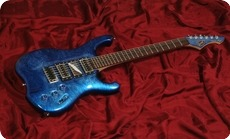 Schloff Guitars Incas Lin 2007 Blue Lin