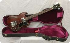 Gibson EB3 1969 Cherry Red