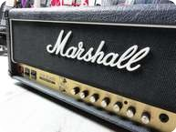 Marshall JCM Slash 2555 Silver Jubilee 100 Watts Head With Snake Cover 1996 Black Tolex