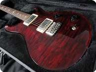 PRS Paul Reed Smith Custom 22 Black Cherry Tremolo Birds Original Case 2004 Black Cherry