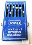 Mxr Six Band Equalizer 1977 Blue
