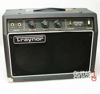Traynor TS 15 1980s Grey Amp For Sale Guitar Studio