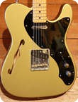 Fender Custom Shop 50s CC Tele Thinline Aztec Gold Limited Edition 2013