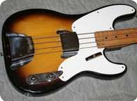 Fender Precision Bass 1957 Sunburst