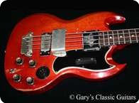 Gibson EB 3 1961 Cherry Red