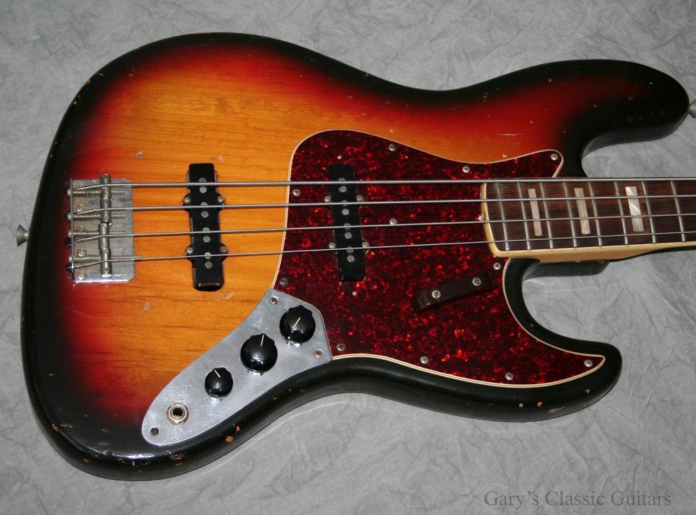 Fender Jazz Bass 1973 Sunburst 33401