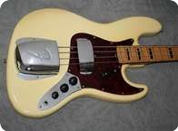 Fender Jazz Bass 1973 Olympic White