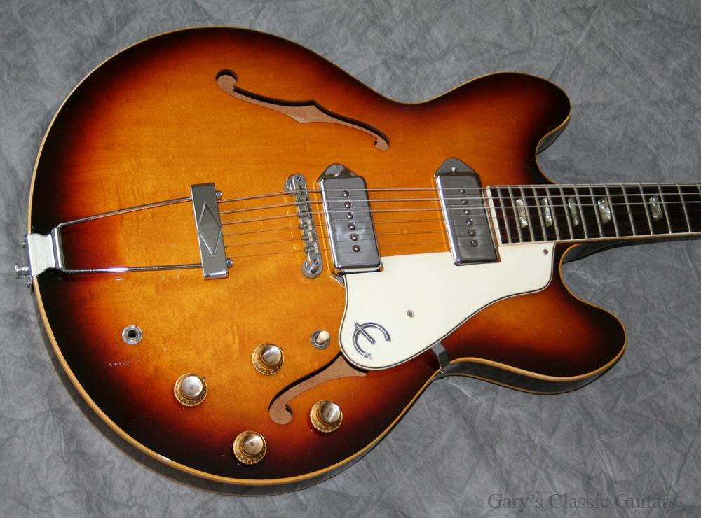 epiphone casino 1967 tobacco sunburst guitar for sale garys classic guitars. Black Bedroom Furniture Sets. Home Design Ideas