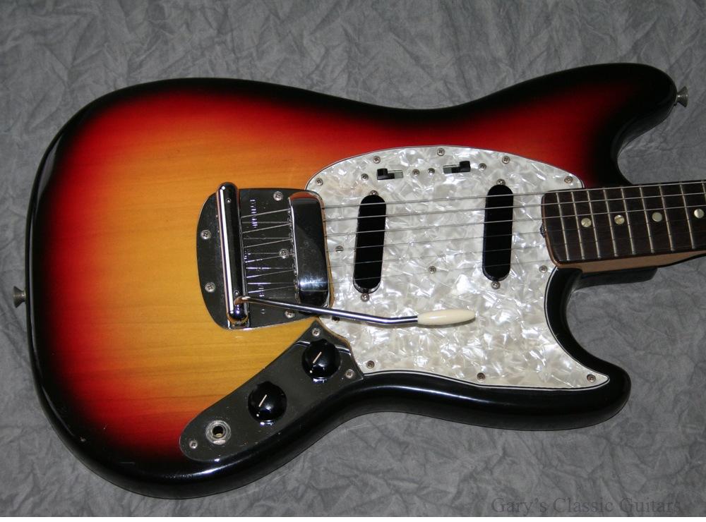 fender mustang 1972 sunburst guitar for sale garys classic guitars