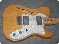 Fender Telecaster Thinline 1972 Natural